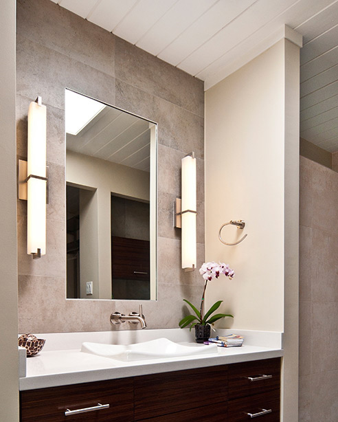 How To Hang A Bathroom Mirror On The Wall: Metro Bath Details