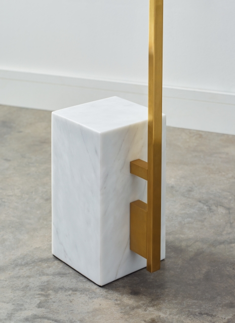 Brass Post with Light Guide