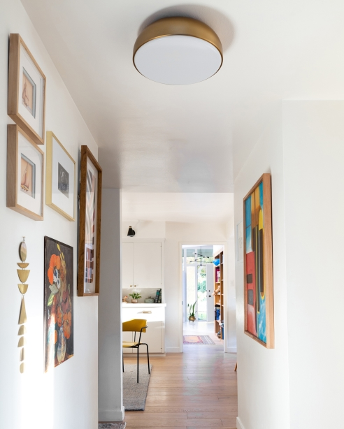 Kosa 13 Ceiling, Aged Brass