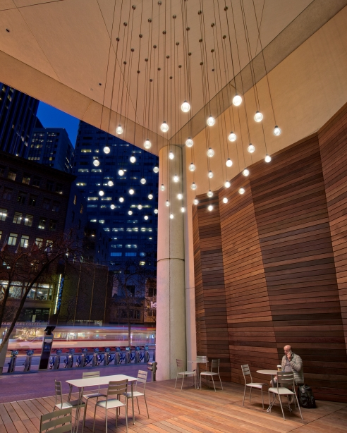 Photography - Brian Ashby, briansperspective.com Lighting Design - Claudio Ramos, IALD – Electrolight