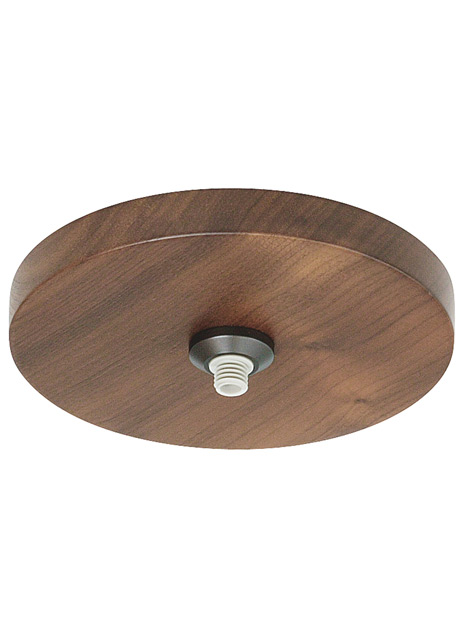 "FreeJack 4"" Round Flush Wood Canopy LED"