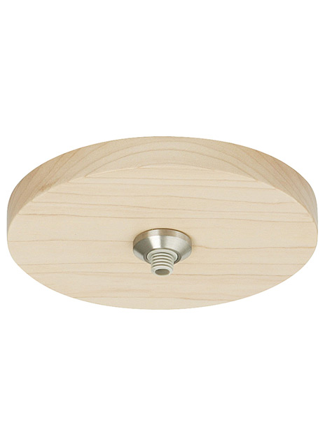 "FreeJack 4"" Round Flush Wood Canopy"