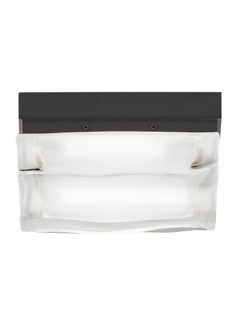 Fluid Square Small Flush Mount