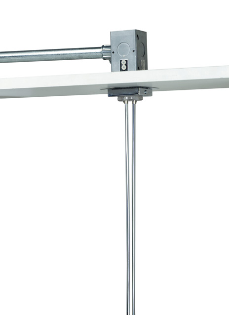 "Kable Lite 2"" Square Power Feed Canopy Single-Feed"