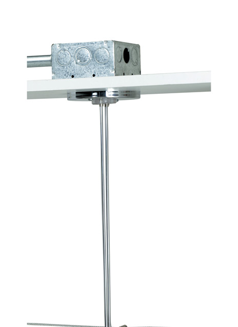 """Kable Lite 4"""" Round Power Feed Canopy Single-Feed"""