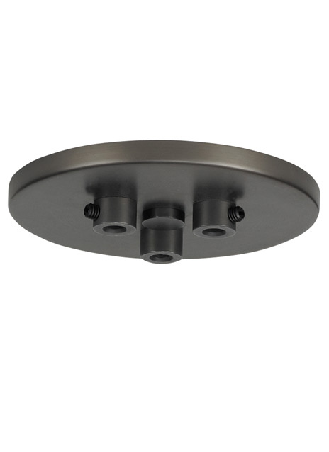 Line-Voltage Mini Canopy 3 Port Round