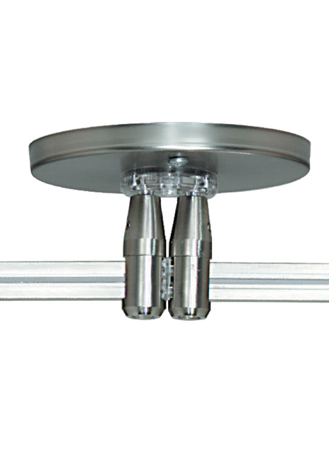 """MonoRail 4"""" Round Power Feed Canopy Dual-Feed"""
