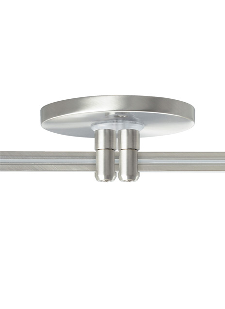 "MonoRail 4"" Round Power Feed Canopy Low-Profile Dual-Feed"