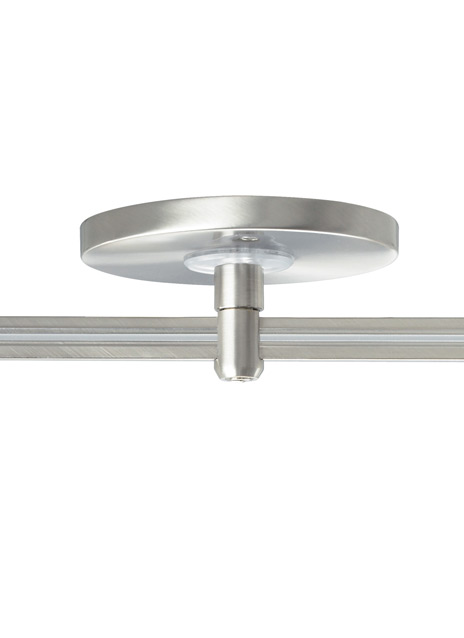"""MonoRail 4"""" Round Power Feed Canopy Low-Profile Single-Feed"""