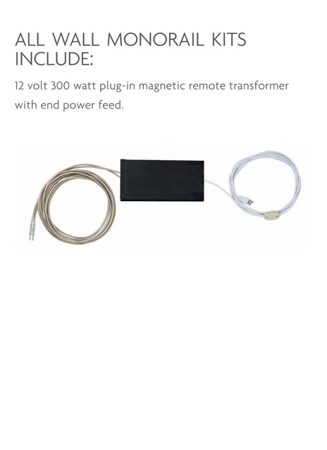 Wall MonoRail Remote Kit 300w