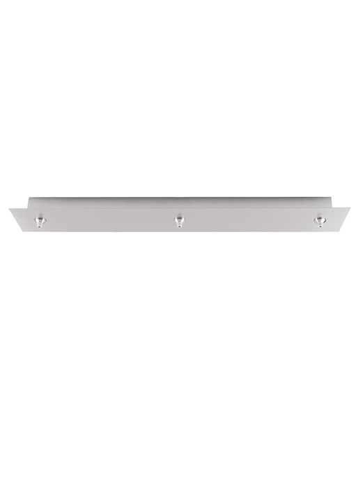 Fusion Jack Canopy 3 Light Rectangle LED